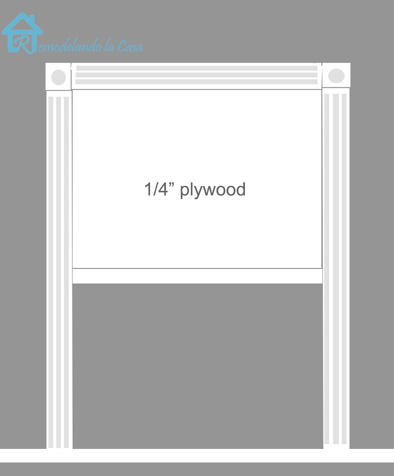 Picture frame headboard remodelando la casa