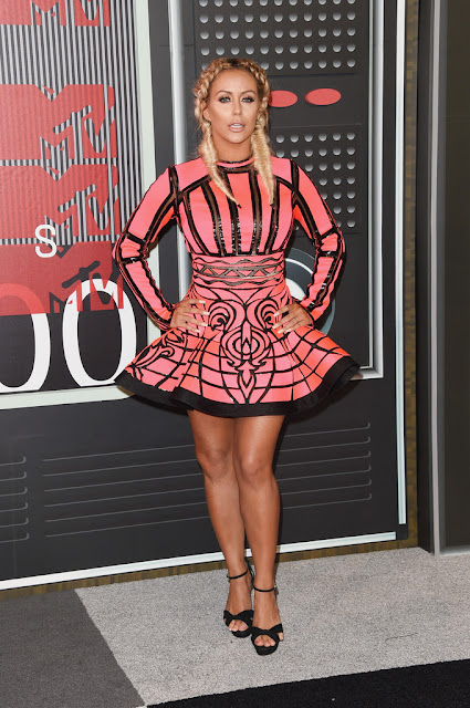 Actress, Singer @ Aubrey O'Day - 2015 MTV Video Music Awards in Los Angeles