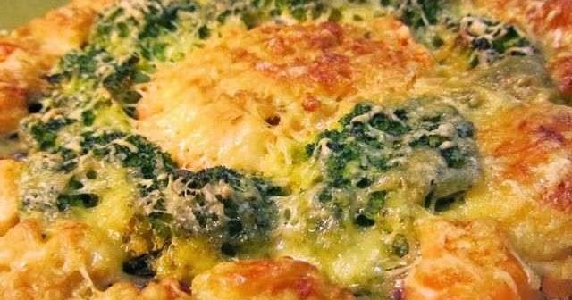 блюдо из цветной капусты и кабачков