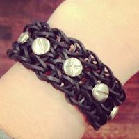 Punk Rainbow Loom Bracelet