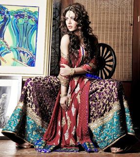 Pakistani exclusive bridal dresses Collection 2013