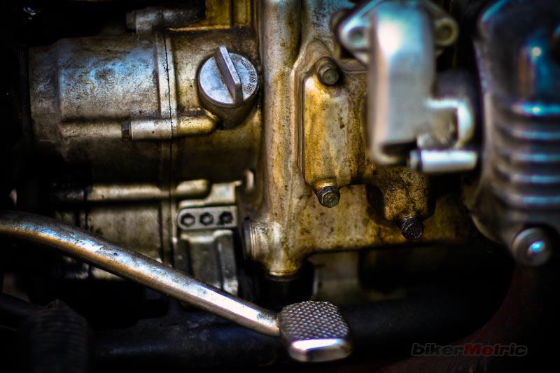 dirty goldwing engine detail | mondo lulu photo