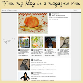 A Magazine View of my blog