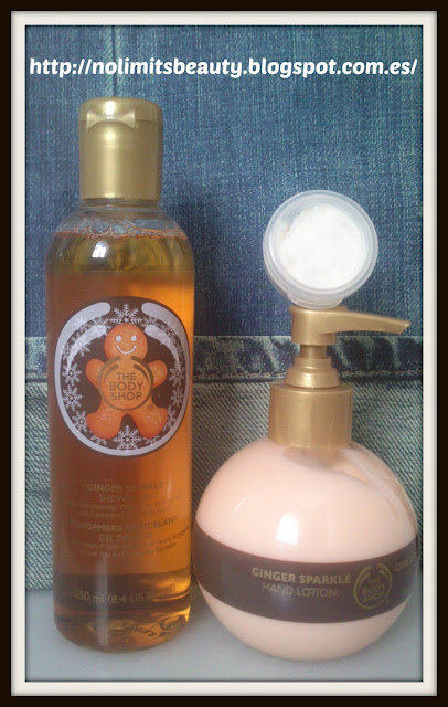 Ginger Sparkle The Body Shop