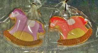 fancy cookies aqiqah rocking horse