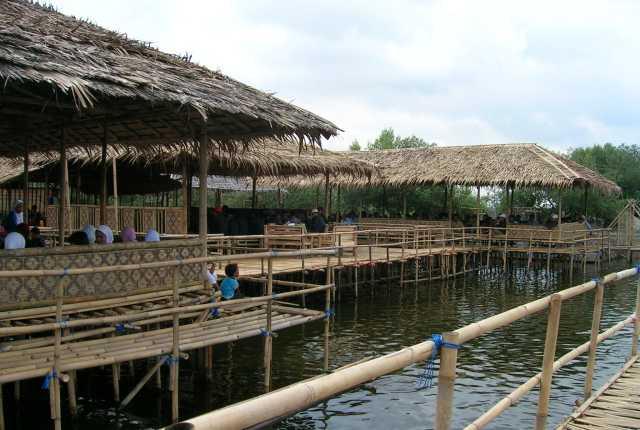 pemancingan mangrove fasilitas fasilitas