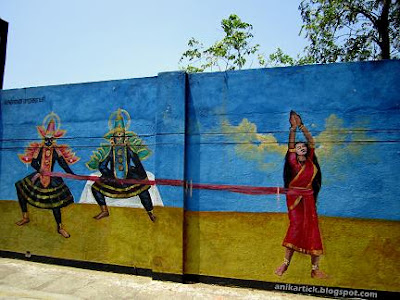 TAMILNADU ARTISTS WALL PAINTING WORKS In CHENNAI WALLS