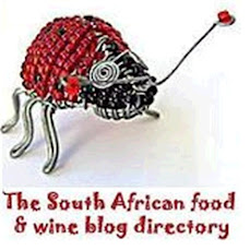 I belong to the South African Food &amp; Wine Blog Directory