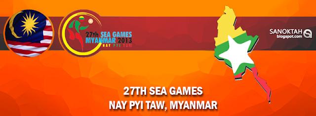 Senarai Pungutan Pingat MAlaysia  Sukan SEA myammar 2013