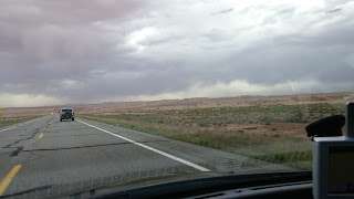 Approaching Grand Canyon on US-160 West
