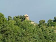 Sant Feliu de Rodors des de la Baga de Vilalta