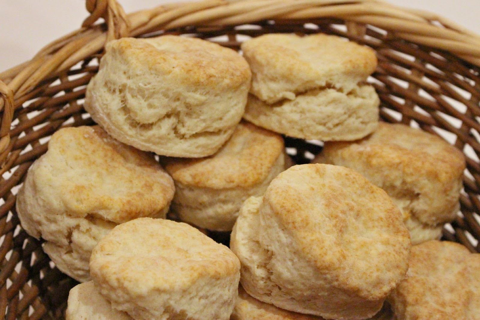 Jenn's Random Scraps: Almost Spring, and Sour Cream Biscuits