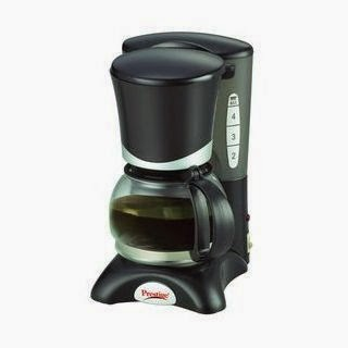 Buy Prestige PCMH 2.0 Coffee Maker and Rs.26 cashback at Rs.1231 – Shopclues