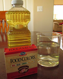Why Don't Water and Oil Mix Science Activity for Kids