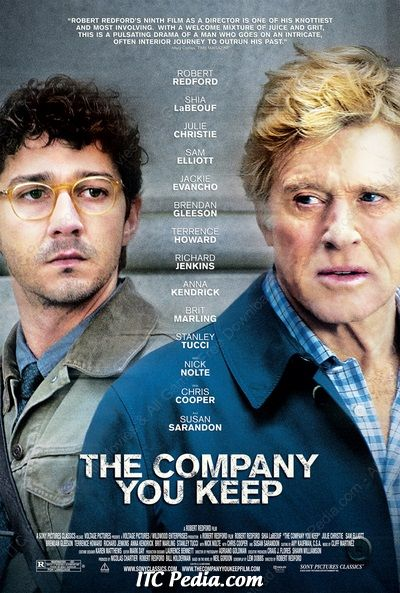 The Company You Keep 2012 DVDRip XviD - NYDIC