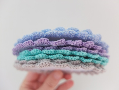 Crochet Stitches Tight : ... stitches fairly tight, but without ripping the card. You will crochet