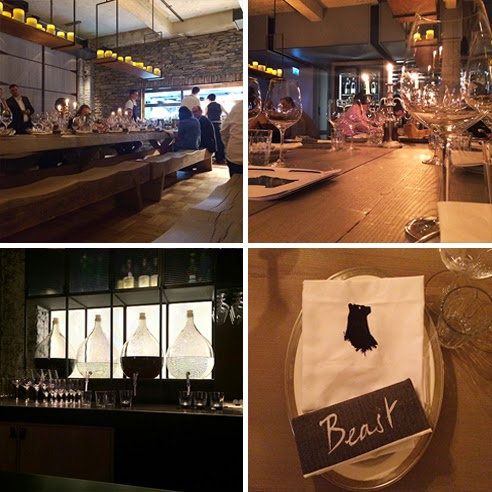 Beast Restaurant Interior Design
