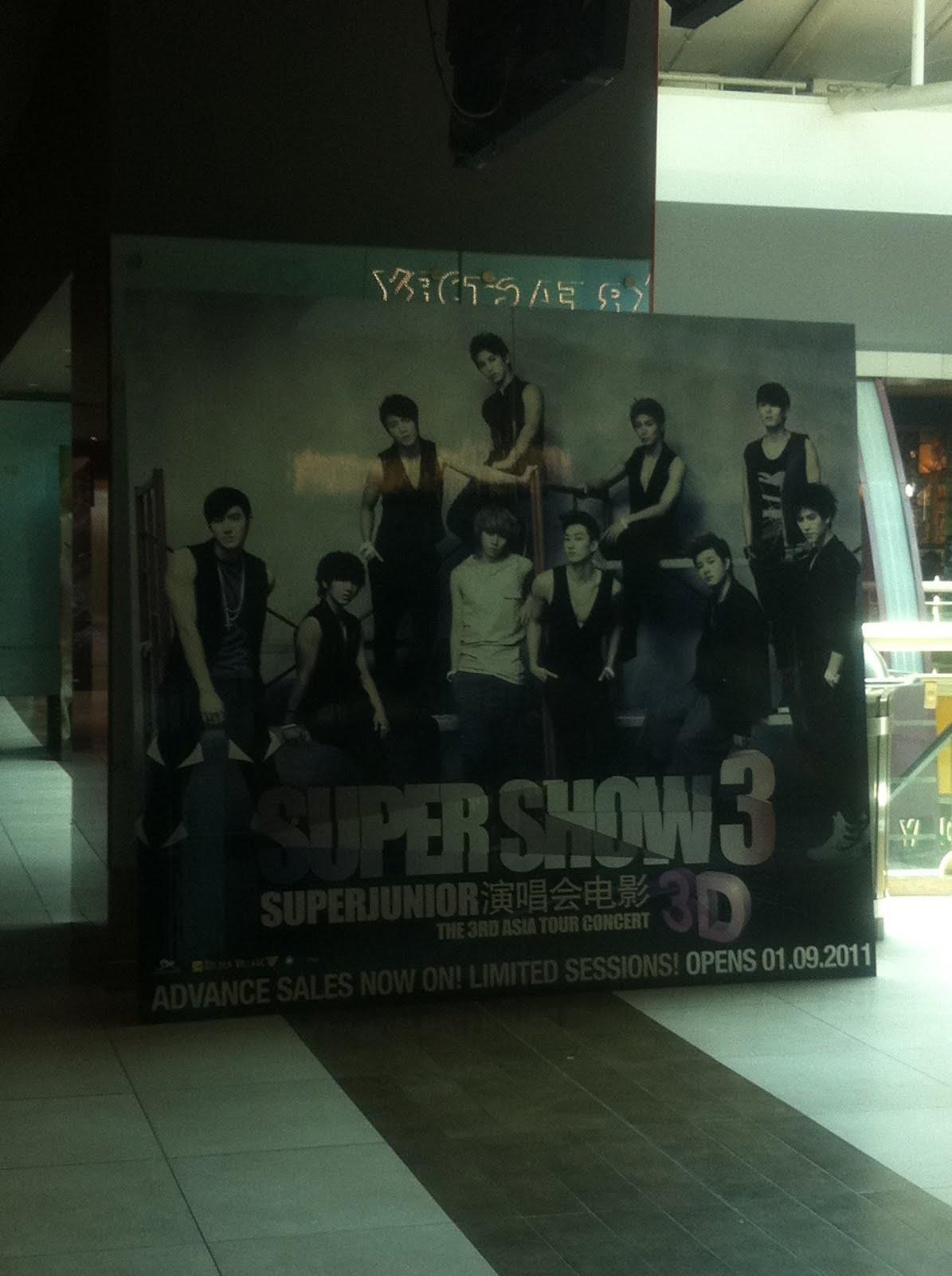 super junior super show 3 3d télécharger