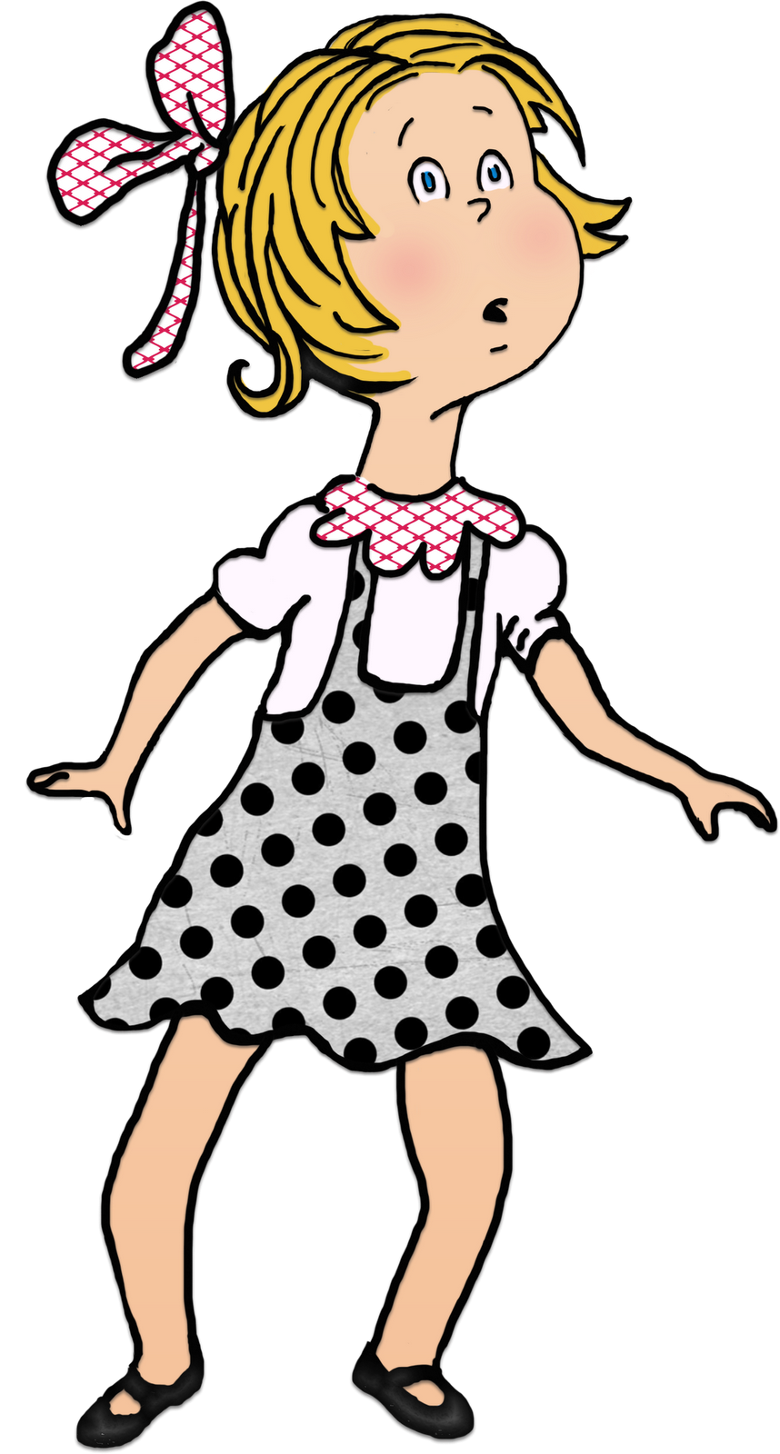 Cat In The Hat Sally Dress