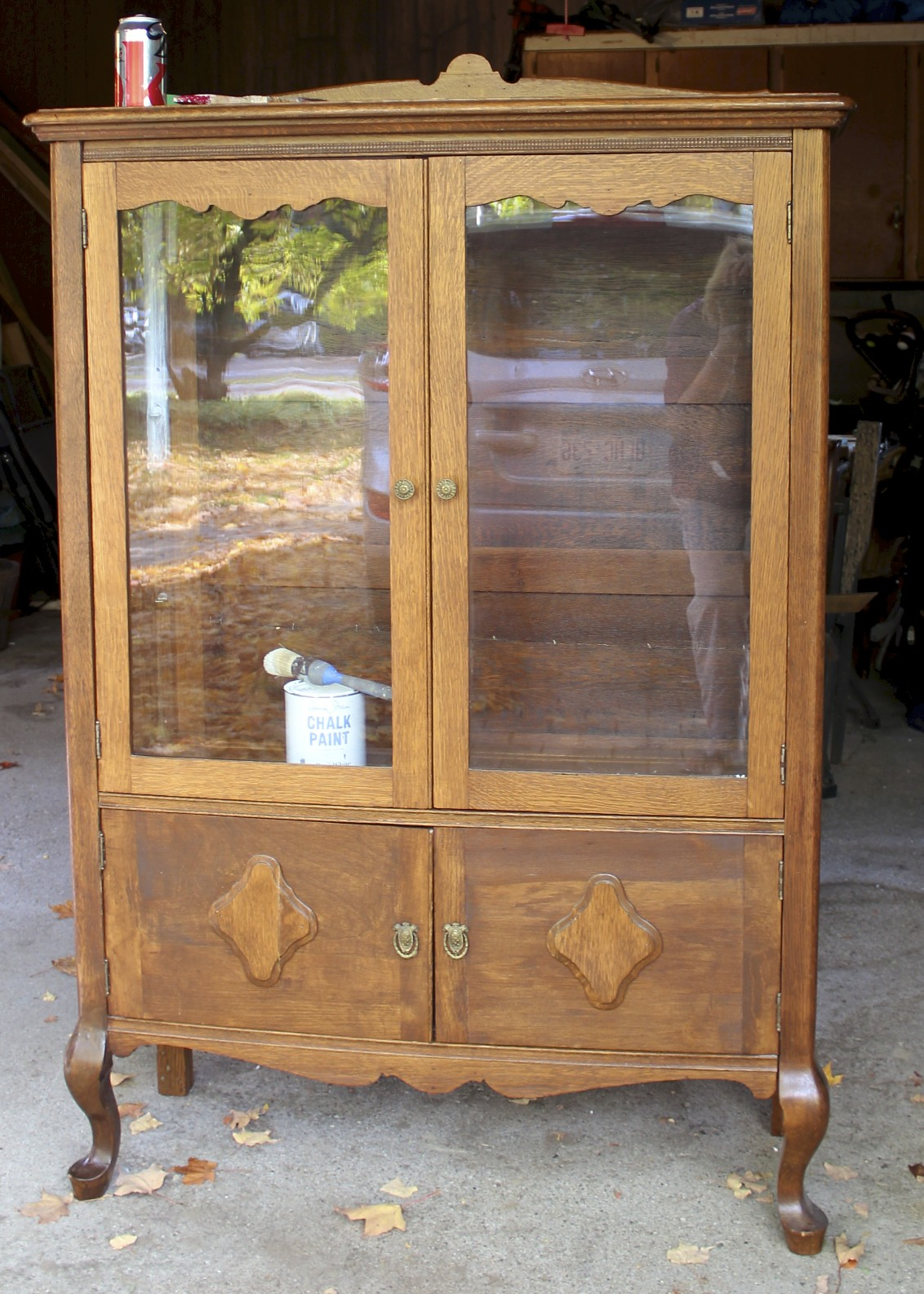my shabby chic china cabinet new house new home. Black Bedroom Furniture Sets. Home Design Ideas