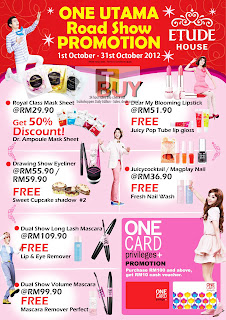 tude House 1 Utama Roadshow Promotion Sale 2012