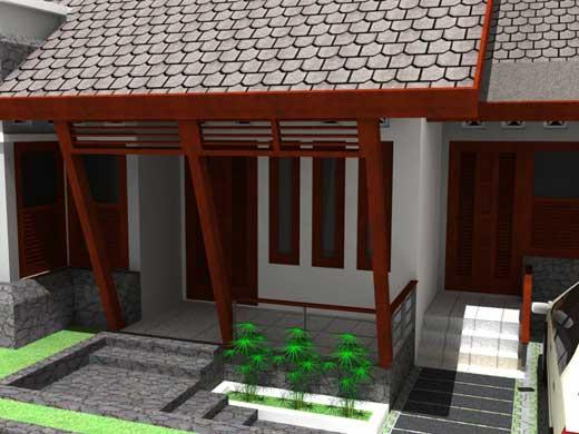 Contoh Gambar Desain Teras Rumah Minimalis 2014