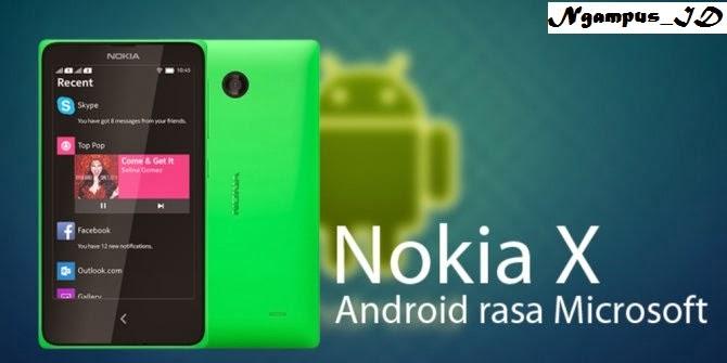 Di Indonesia, Nokia X dijual hanya Rp 1,2 juta