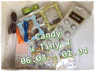 "Candy w "" TINYHANDMADE"""