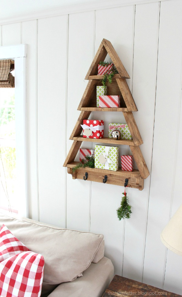free plans tree shelf