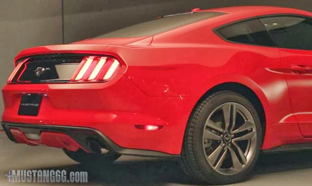 2014 Ford Mustang leaked photos