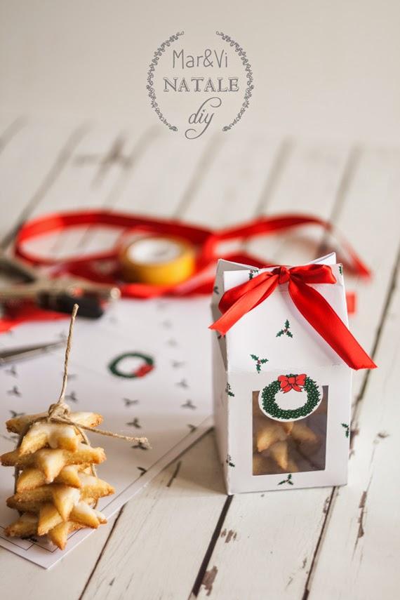 Conosciuto Mar&Vi Blog: Regali di Natale: Scatole per biscotti da stampare gratis HU84