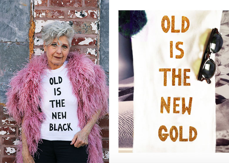 Old Is The New Black Limited Edition T-shirts