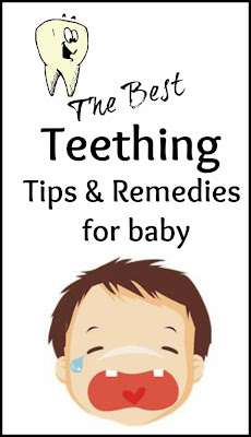 Teething tips relief and remedies for baby