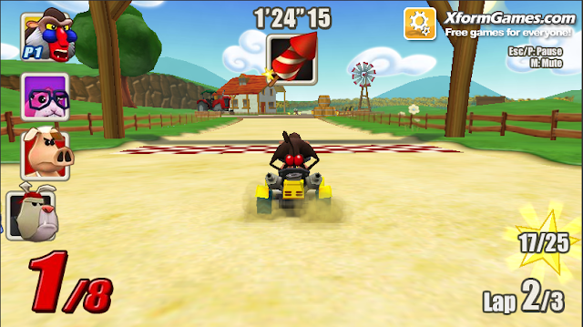 Go Kart Go! Nitro! shortcuts