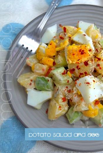 Potato Salad & Egg