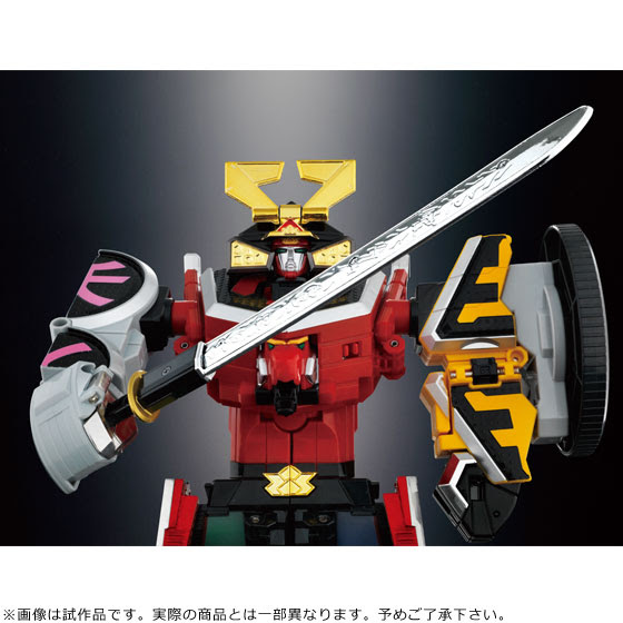 Super Sentai Artisan DX Shinken-Oh official image 03
