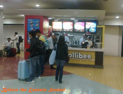 Jollibee inside NAIA Terminal 3