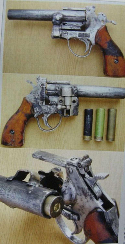 Как сделать револьвер руками