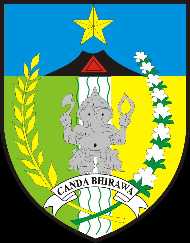 logo kabupaten kediri kumpulan logo indonesia