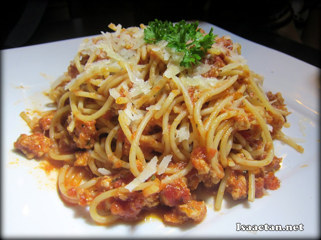 #7 Chicken Bolognese - RM15