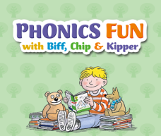 learn phonics through play, Nintendo 3DS Phonics Fun with Biff, Chip & Kipper, Oxford Reading Trees phonics game