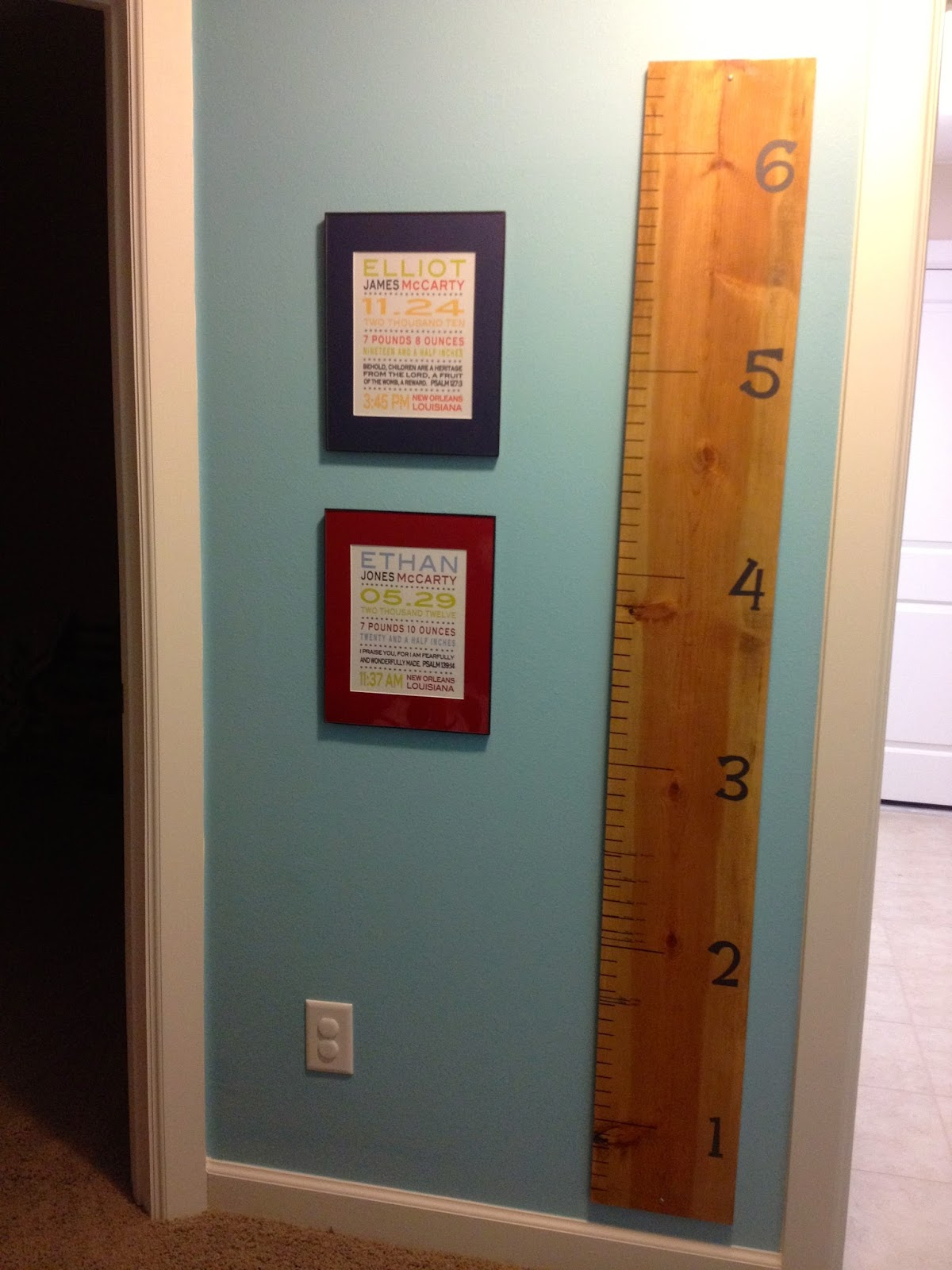 Diy crazy easy chevron growth chart ruler mccarty adventures diy crazy easy chevron growth chart ruler nvjuhfo Gallery