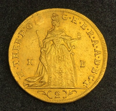 Maria Theresa Double Gold Ducat