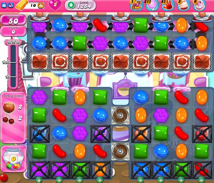 Candy Crush Saga 1254