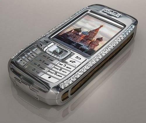 Diamond Crypto Smartphone by Peter Aloissons