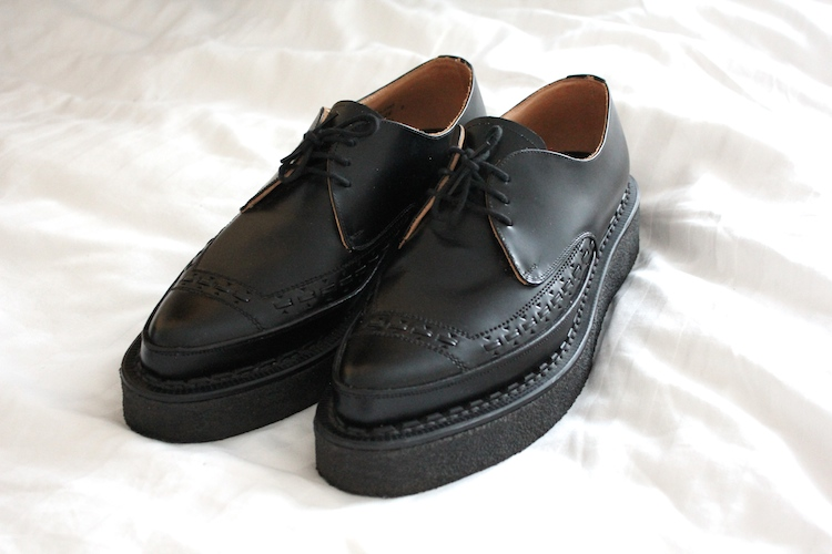 Creepers Shoes Pointed Toe