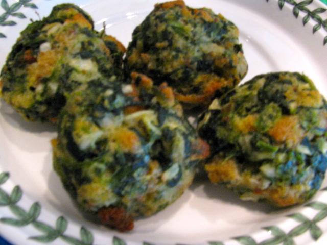Rita's Recipes: Spinach Balls