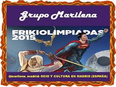 Frikiolimpiadas 2015 con Grupo Marilena