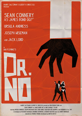 Sean Connery Dr. No Movie Poster