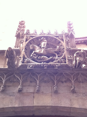 sant jordi generalitat gotic barcelona